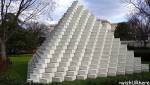 Sol LeWitt, Four-Sided Pyramid