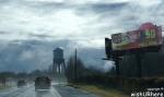 Driving into Charlotte NC
