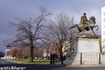 General J.E>B Staurt Statue Richmond VA.