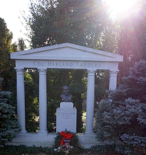 Col Sanders Grave