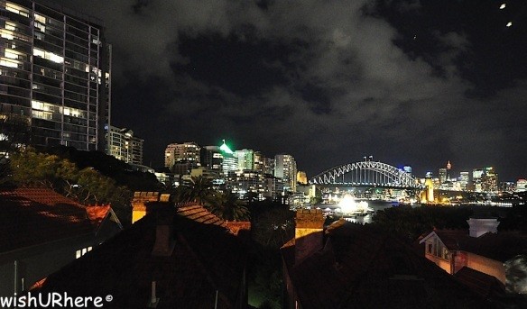 Sydney Harbour Bridge viewed from North Sydney