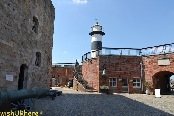 Southsea Castle Lighthouse Portsmouth