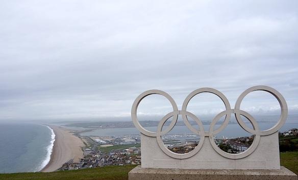 Isle of Portland Olympic Rings