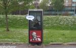 KFC Phone Booth Ad