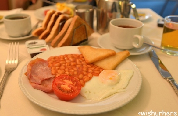 Richmond Hotel Breakfast