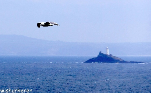 Seal Island and Godrevy Lighthouse