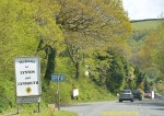 Driving to Lynmouth