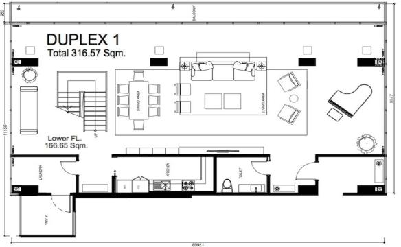 Duplex 1 Lower