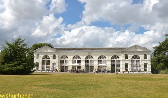 Orangery restaurant Kew